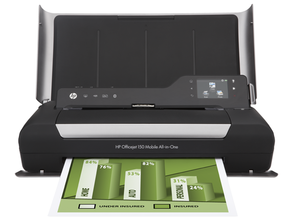 Máy in phun HP Officejet 150 Mobile All-in-One Printer - L511a (CN550A)