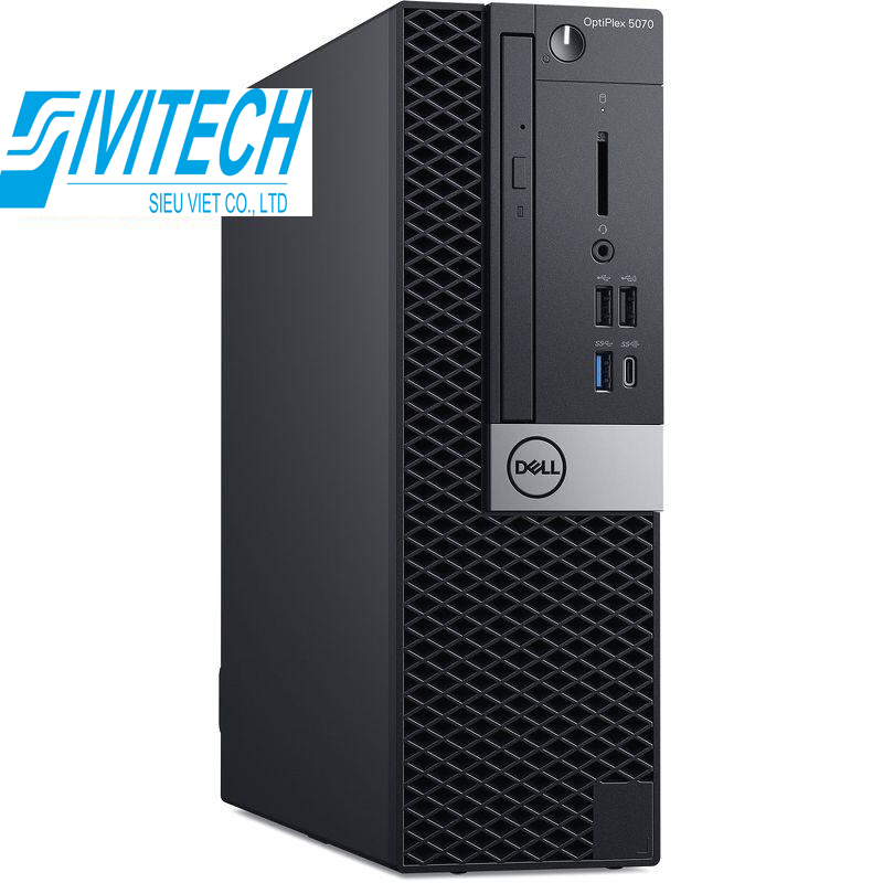 PC Dell OptiPlex 5070 Minitower (42OT570W02)/ Intel Core i5-9500 (3.00GHz, 9MB)/ Ram 8GB (1X8GB) DDR4/ HDD 1TB/ Intel UHD Graphics/ DVDRW/ Mouse & Keyboard/ NWL/ Win 10 Pro/ 3Yrs
