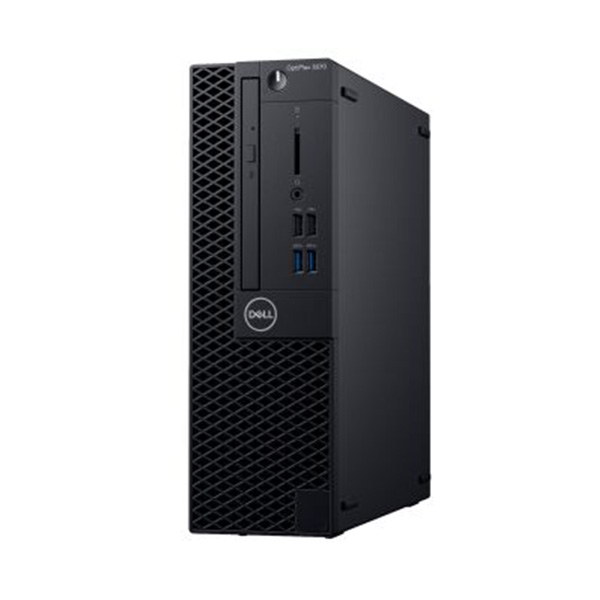 PC Dell Optiplex 3070 SFF (70199618)/ Intel Core i3-9100 (3.60GHz, 6MB)/ Ram 4GB/ HDD 1TB/ Intel UHD Graphics/ DVDRW/ Key & Mouse/ Fedora/ 1Yr