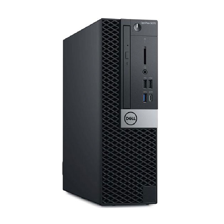 PC Dell Optiplex 5070SFF (5070SFF-9700-1TBKHDD)/ Intel Core i7-9700 (3.00GHz, 12MB)/ Ram 8GB/ HDD 1TB/ Intel UHD Graphics/ DVDRW/ Key & Mouse/ Win 10pro/ 3Yrs