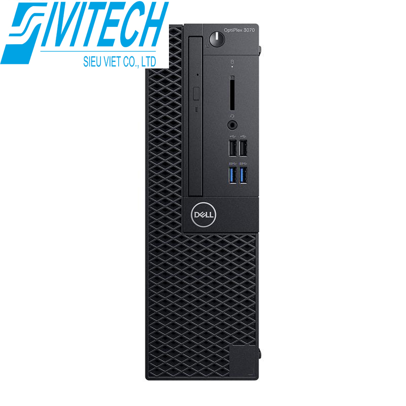 PC Dell OptiPlex 3070 Tower (70220311)/ Intel Core i5-9500 (6 Cores/9MB/6T/3.0GHz to 4.4GHz/65W) 4GB 1X4GB 2666MHz DDR4 / HDD 1TB/ SSD 256GB / Intel Wireless-AC 9560, Dual-band 2x2 802.11ac Wi-Fi / MU-M