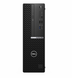 PC Dell Optiplex 7080 SFF/ Intel core i7-10700 (2.90GHz,16MB)/ RAM 8GB (1x8GB) DDR4/ SSD 256GB/ Intel UHD Graphics/ DP + HDMI Port/ Wifi + BT/ Key & Mouse/ Ubuntu/ 3Yrs