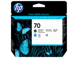 Đầu phun HP 70 Matte Black and Cyan Printhead Đầu in (C9404A)