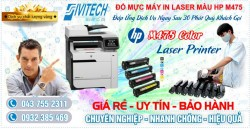 Đổ Mực Máy In HP M475 Color Laser Printer Series