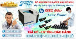 Đổ Mực Máy In HP M551 Color Laser Printer