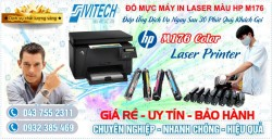 Đổ Mực Máy In HP M176 MFP Color Laser Printer