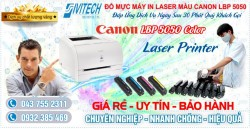 Đổ Mực Máy In Canon LBP 5050 Color Laser Printer