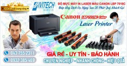 Đổ Mực Máy In Canon LBP 7018C Color Laser Printer