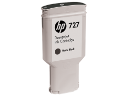 Mực in HP 727 300-ml Matte Black DesignJet Ink Cartridge (C1Q12A)