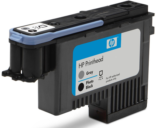 Đầu Phun HP 72 Gray and Photo Black Printhead ( Đầu in )