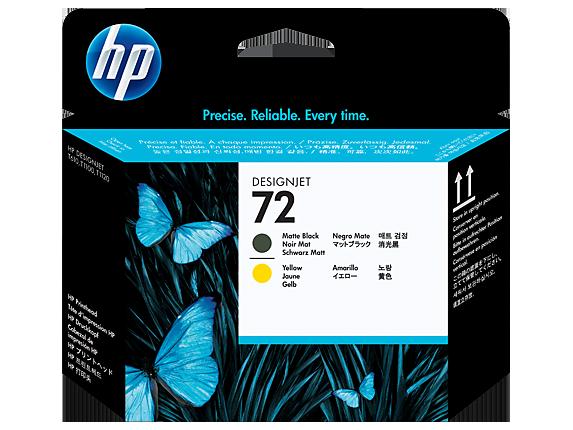 Đầu phun HP 72 Matte Black and Yellow Printhead C9384A ( Đầu in )