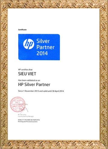 chứng chỉ silver 2014