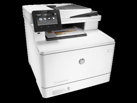 Máy in đa chức năng HP Color LaserJet Pro M477fdw - CF379A