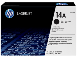 Mực in laser HP 14A Black