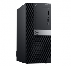 PC Dell OptiPlex 7070 MT/ Intel Core i5-9500 (3.00GHz, 9MB)/ RAM 8GB (1x8GB) DDR4/ HDD 1TB/ Intel UHD Graphics/DP + HDMI Port/ Wifi + BT/ Key & Mouse/ Ubuntu/ 3Yrs