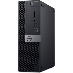 PC Dell Optiplex 7070 SFF/ Intel Core i7-9700 (3.00GHz, 12MB)/ RAM 8GB (1x8GB) DDR4/ SSD 256GB/ Intel UHD Graphics/ DP + HDMI Port/ Wifi + BT/ Key & Mouse/ Ubuntu/ 3Yrs